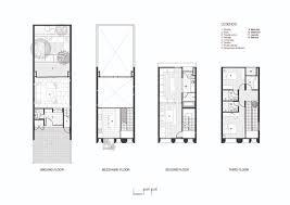 Garden Floor Plan Gallery Of Townhouse With Private Garden Baan Puripuri 20