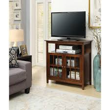 Tv Stand Convenience Concepts Big Sur Dark Walnut Highboy Tv Stand