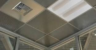 Suspended Ceiling Tile by Metal Suspended Ceiling Panel Wire Metalscapes Chicago