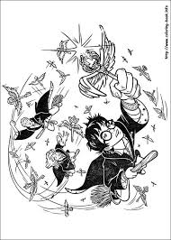 76 harry potter colouring pages images