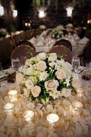 wedding flowers ideas elegant white wedding flower centerpieces