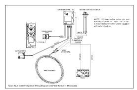 wiring diagram for gas fireplace gas fireplace gas flow diagram