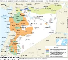 Syria Map Control by Maps Rojava Solidarity Seattle