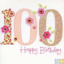100th Birthday Card 39 Best 100th Birthday Cards Images On Pinterest Best Quotes