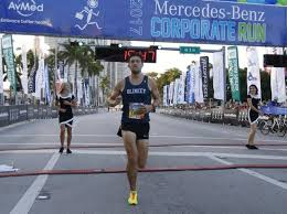 mercedes corporate the 28 000 mercedes corporate run rocks downtown miami