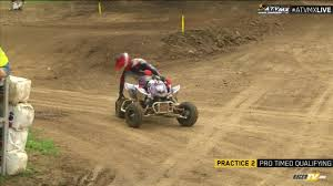 atv motocross videos atv pro mx rnd 11 atv dirt days at loretta lynn u0027s day 1 racertv