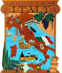 The Map Of Italy by Italy Map The Cat U0027s Meow Village