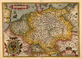 germania map germania barry ruderman antique maps inc