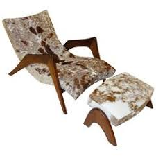 Cowhide Chairs And Ottomans Adrian Pearsall Lounge Chairs 132 For Sale At 1stdibs
