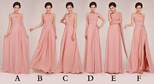 blush pink bridesmaid dresses cheap chiffon blush pink bridesmaid dresses prom to wedding