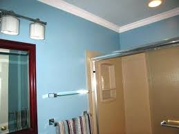 Bathroom Crown Molding Ideas Crown Molding In Bathroom Complete Tiny Bathroom With Exposed