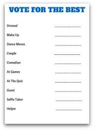Dinner Party Question Games - the best graduation party games