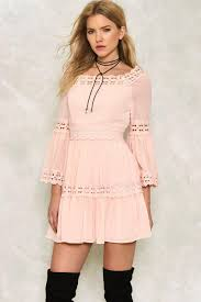 dress gal caroline ruffle dress shop clothes at gal