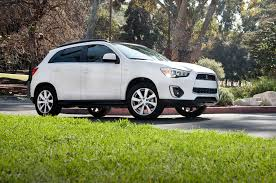 mitsubishi sports car 2015 2015 mitsubishi outlander sport 2 0l first test motor trend