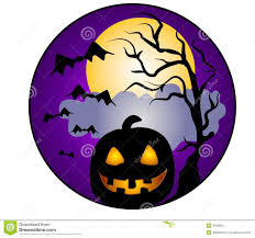 vintage halloween clip art a clip art illustration of a halloween scene featuring the