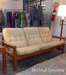 Danish Modern Teak Desk by Danish Modern Teak Sofa By Domino Mobler Also Available Matching