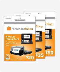 nintendo eshop gift card nintendo prepaid card 50usd wii u 3d end 11 5 2015 9 45 pm