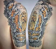 60 wonderful armor tattoos