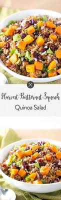 harvest butternut squash quinoa salad delicious meets healthy