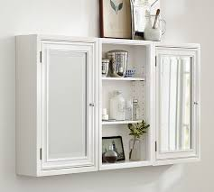 Glass Shelves Cabinet Modular Wall Storage Pottery Barn