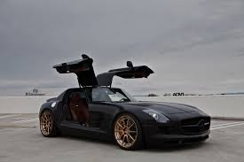 matte black mercedes benz sls amg adv10 m v2 cs custom forged wheels