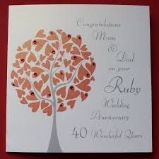 wedding anniversary ideas 7 best ruby wedding anniversary images on anniversary
