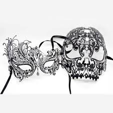 masquerade mask for women aliexpress buy black swan venetian metal filigree mask men