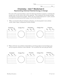 potential energy diagrams worksheets 100 images multi step