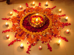 Diwali Decoration Home Flower Rangoli Designs Onam Rangoli Designs With Flowers Pookalam