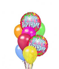 birthday balloon arrangements happy birthday balloon bouquet in tx angel s flowers