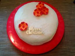 Fruit Decoration For Christmas Cake by Tropical Christmas Cake With Coconut Icing Bakearama