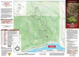 Map Of Spokane Camp Sekani U0026 Beacon Hill Trail Map Evergreen East Mountain Bike