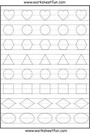 coloring pages preschool shapes tracing worksheet u2013 identify