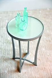 charleston forge drink tables charleston forge cf12 lotus drink table with oyster linen glass top