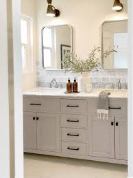 what paint is best for bathroom cabinets painted bathroom cabinets how to get the look clare