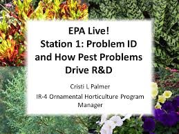 epa live station 1 problem id and how pest problems drive r d