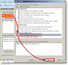 send an out of office response in outlook 2007 without an exchange