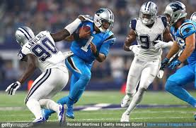 pics panthers cowboys in their colorrush uniforms chris