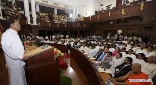 sri lankan l from presidential to parliamentary state a midterm look at sri