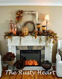 Fireplace Mantel Decor Ideas Home Fireplace Mantel Decorating Ideas For Everyday With Mirror Fall