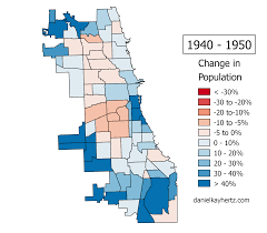 Chicago Homicide Map by Eighty Years Of Chicago U0027s Population Annotated U2013 City Notes