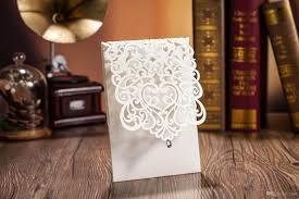 laser cut wedding programs laser cut wedding invitations cards personalized hollow wedding