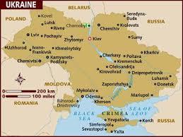 ukraine map map of ukraine