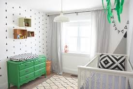 Green Boy Bedroom Ideas How To Create A Black And White Nursery Accent Wall The Sweetest