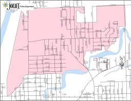 Map Of Chicago Land Area by Sector Maps U2013 Joliet Police Department