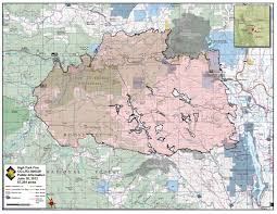 Canyon City Colorado Map by Map Shows Final Perimeter Of High Park Fire Loveland Reporter Herald