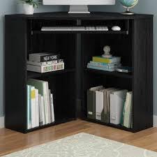 Corner Computer Desk With Bookcase Corner Desks You U0027ll Love Wayfair