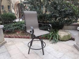 Swivel Outdoor Patio Chairs Swivel Outdoor Bar Stools Ideas How To Make Patio Amazing Backyard