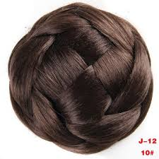 hair bun clip china synthetic hair curly chignon clip from guangzhou trading