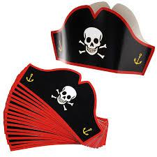 halloween hats amazon com dozen child felt pirate hats toy toys u0026 games